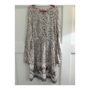 H&M Floral Dress with Animals sz 9-10y